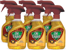 Old English Lemon Oil Furniture Polish, Protect Wood Surfaces, 12 oz (Pack of 6)