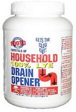 (Case of 12)- Rooto 100% Household Lye Drain Opener 192oz,12lb Total FREE SHIP!!