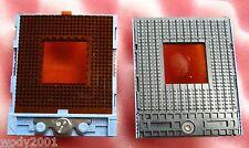 mPGA478 BGA CPU Sockel socket AMP blau ... 2x