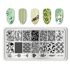 Nail Art Stamping Plate Image Decoration Flower Fern Leaf Flowers Fall (BPL026)