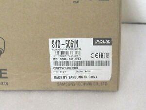 Samsung SND-5061N 1.3MP Indoor Dome IP Security Camera HD Day/Night [CTA]