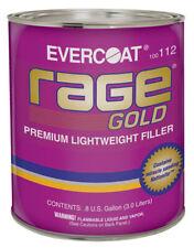 Rage Gold Premium Lightweight Body Filler, Gallon Fib-112