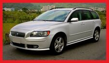 VOLVO V50 before facelifting  2004 - 2007  R-DESIGN -  BODY KIT - FR + RE + SS