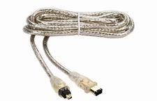 Kabel FireWire IEEE1394 4/6 2,0m. Gold24k HQ - THOMSON EU2464