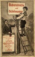 Buschiade. Anne la Crade. – valets des tours et schelmereien. Lothar Meggendorfer.