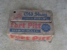 OLD SHAY FORT PITT BEER & ALE BEER BOTTLE CASE - FORT PITT BREWING CO. - VINTAGE