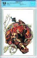 Juggernaut #1 Comics Elite Kyle Hotz Virgin Secret Exclusive - CBCS 9.8!