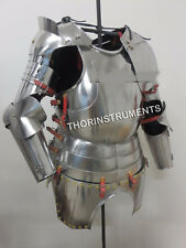 Armor Medieval Gothic Suit of Armor Half Suit Breastplate Back Plate