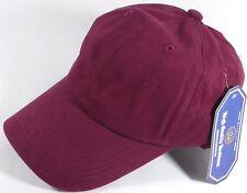 100% Washed Cotton Plain Baseball Cap (Dad Hat)