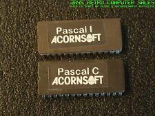 BBC MICRO - BBC MASTER - ACORNSOFT - ISO PASCAL I - PASCAL C - ROM - TESTED