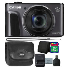Canon PowerShot SX720 HS 20.3MP Wifi / NFC 40X Zoom Camera Black Starter Bundle