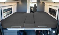 Living Air Wohnmobil Spannbetttuch 3-teilig anthrazit Bett Bezug für Camper Bett