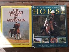 The Arabian Horse in Australia by Gordon & Dwyer HB/DJ + Complete Book of Horse