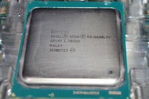 Intel Xeon E5-2650L V2 SR19Y 1.70GHz 10 Core LGA 2011 CPU Grad A USA FREE SHIP!