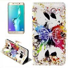 CARTERA DE LUJO motivo bolsa 13 para Samsung Galaxy S6 EDGE PLUS G928 F Funda