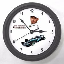 Lewis Hamilton World Champion Garage Wall Clock New Great Gift!