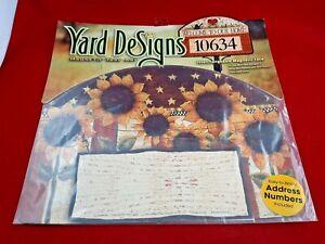 Yard DeSigns Magnetic Yard Art Sign SUNFLOWERS