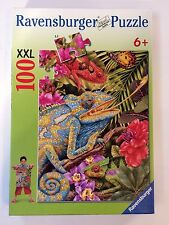 Ravensburger 'Tropical Lizards' 100 Piece Puzzle XXL 6+ Made In Germany  🇩🇪