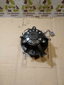 VAUXHALL ASTRA J HEATER BLOWER MOTOTR FAN U7254002 (2012) #X/101