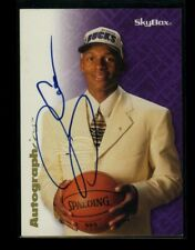 1996-97 Skybox Autographics RAY ALLEN Rookie RC Blue Ink Auto Autograph SP