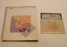 Apple II+, Apple IIe, IIc, IIGS ProDOS User's Disk and Manual by Apple Computer