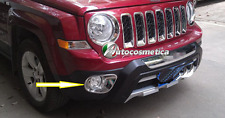 Cover fendinebbia in abs cromo cromate Jeep Patriot 2011 in poi