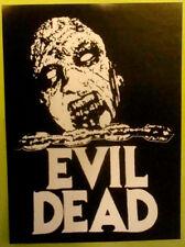 STICKER - Evil Dead - vinyl HORROR - Ash Bruce Campbell Sam Raimi necronomicon
