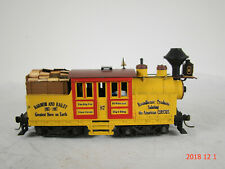 Climax Steam Locomotive - old box style -DCC & Sound TSU 1100 - custom weathered