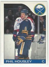 1985-86 OPC HOCKEY #63 PHIL HOUSLEY - EX+/NRMT-