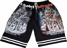 IRON MAIDEN Short Pants Music Hard Classic Rock Metal Death Thrash Heavy Black