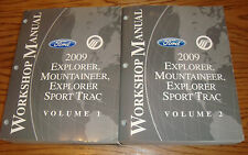 2009 Ford Explorer Sport Trac Mercury Mountaineer Shop Service Manual Vol 1 2