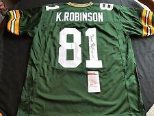 Koren Robinson Green Bay Packers Signed Custom Jersey JSA WPP