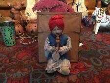Antique Snake Charmer Doll