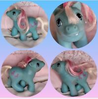 ❤️My Little Pony MLP G1 Vtg BABY First Tooth Fifi Poodle Pink Blue CUTE❤️