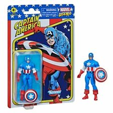 """Marvel Legends Retro 375 Collection Capt.America 3.75"""" Action Figure NOW IN HAND"""