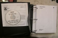 Service manual with CD for for BMW K12RS , 1996- 2000 & 2001 excellent cond.