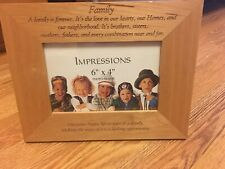 wooden picture stand