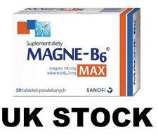 Magne B6 MAX 50 tabs Magnesium 100mg Vit B6 2mg - Magnez Witamina B6 SANOFI