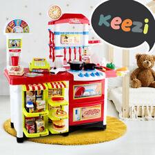 Keezi Kids Supermarket Toy Kitchen Pretend Play Set Shop Cash Register Cooking