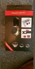 Mobile phone Clip Focusx lens kit fisheye Wide-angle, Macro and Fish-eye lens