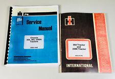 International 354 2300 Tractor Service Operators Manuals Technical Shop Repair
