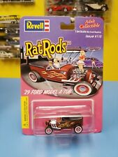 REVELL   RAT RODS '29 FORD MODEL A TUB   BROWN W/ YELLOW FLAMES ISSUE   #110