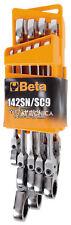 """Beta Tools Ensemble de 9 Clés À cliquet """"142sn/sc9"""" Acier 001420259"""