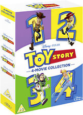 TOY STORY 4-Movie Collection [Blu-ray] Complete 1 2 3 4 Disney Pixar Box Set