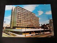 Wilshire Hyatt House Hotel Motel Hollywood Hills Blvd Center Cars Adv CA Hugo's