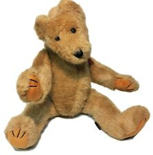 Boyds Collection Bubba Bear Double Swivel Head Tan Plush Fully Jointed Teddy 16""