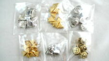 84 Assorted METAL STUDS Silver & Gold Tone Leather Crafts Decoration LOT #1
