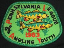 Vintage 1983 Pennsylvania Leauge of Angling Youth Fish