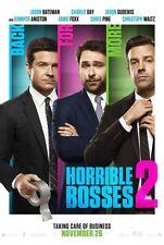 Horrible Bosses 2 - original DS movie poster - 27x40 D/S Adv