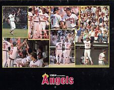 CALIFORNIA ANGELS-1984 CALENDAR--TONS OF PICTURES-SUPER NICE